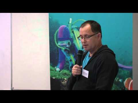 Marine science speaker, Associate Professor Stephen Smith. NPA Marine Conservation Forum