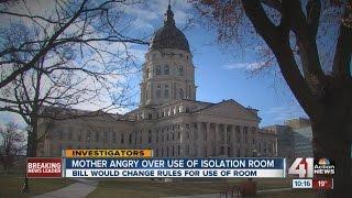 Seclusion room proposal before Kansas legislature