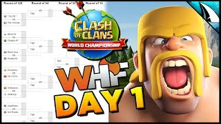 *April ESL Day 1* World Championship Recap - Crazy Finish | Clash of Clans