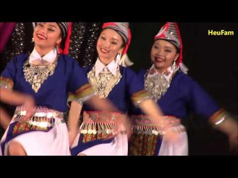 Sacramento Hmong New Year 2015-2016: Dance - Round 1 - Nkauj Hmoob Peev xwm