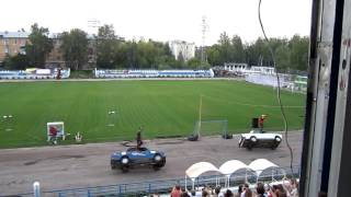 Шоу каскадёров. Нижний Новгород 2016