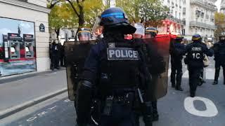 Manifestation contre la loi travail à Paris le 16 novembre 2017 vidéo 3