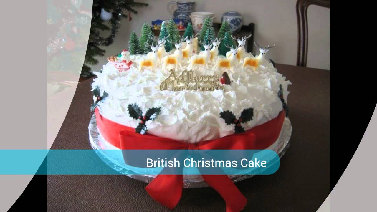 British Christmas Cake.Classic British Christmas Cake