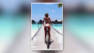 Sexy Hot Girls Riding  Bicycles