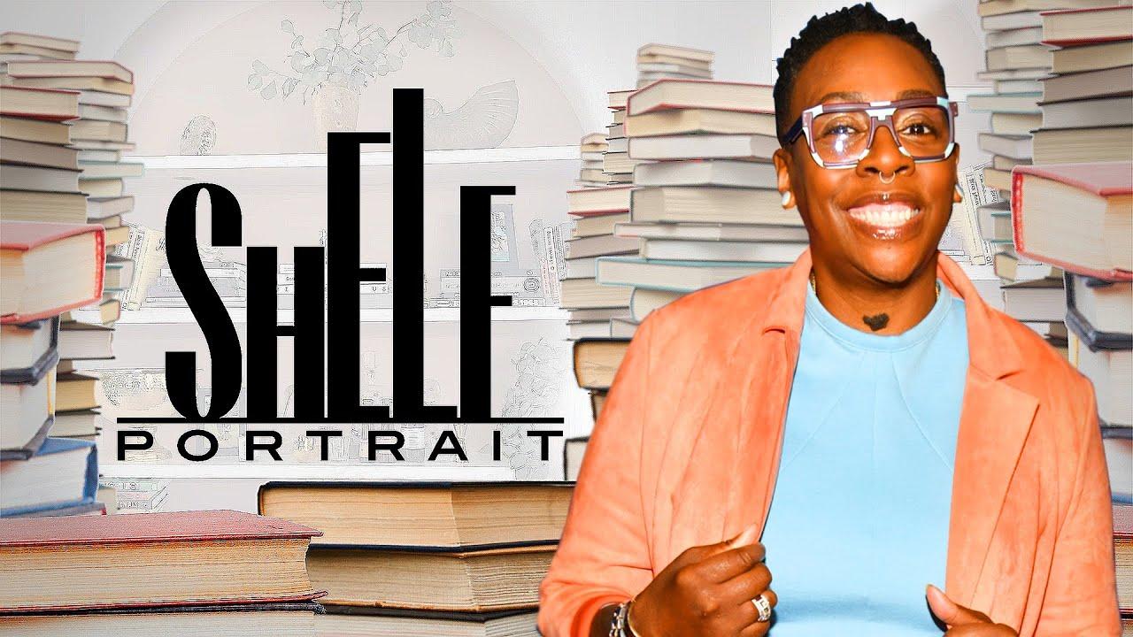 Gina Yashere's Personal Library Includes Horror Classics & Black Female Authors | Shelf Portrait