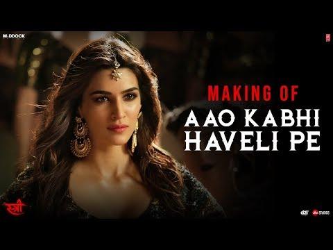 Making Of Aao Kabhi Haveli PeSong | STREE |Kriti Sanon | Badshah, Nikhita Gandhi, Sachin - Jigar