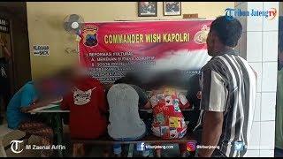 Pesta Miras, Ratusan Pelajar Dari 6 SMP di Brebes Digrebek Polisi
