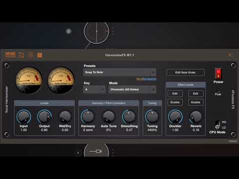 4Pockets Vocal Harmonizer/Soloist AUv3 Plugin For IOS