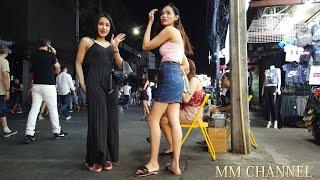 Thailand Phuket Street Scenes - Massage Patong Bangla Walking street - Vlog 004 タイプーケットの夜遊び Vlog004