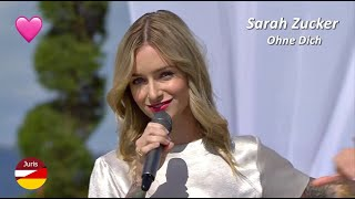 Sarah Zucker - Ohne Dich (ZDF-Fernsehgarten 06.09.2020)