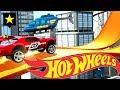 Hot Wheels Race Off Red NightShifter City Race Track Video Game!