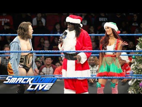 Daniel Bryan ruins Truthy Claus & CarmELFa's Christmas celebration: SmackDown LIVE, Dec. 25, 2018