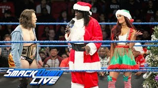 Daniel Bryan ruins Truthy Claus & CarmELFa's Christmas celebration: SmackDown LIVE, Dec. 25, 2018