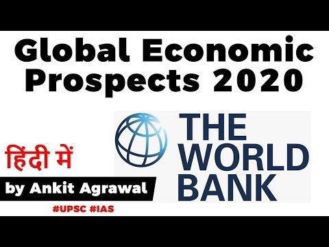 Global Economic Prospects 2020, World Bank lowers India's GD
