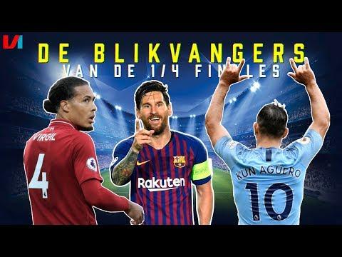 De Blikvangers v/d Kwartfinales: 'Het Wordt Voetballes Op Old Trafford Van Messi'
