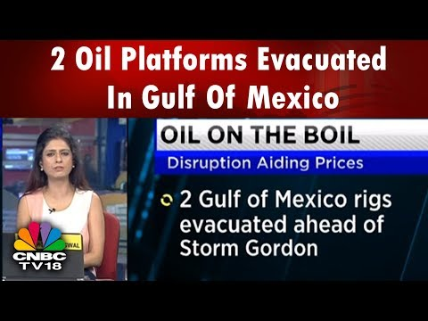 Repoter Diary | 2 Oil Platforms Evacuated In Gulf Of Mexico | CNBC TV18