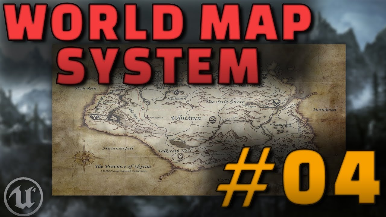 Tutorial series creating a world map system unreal engine forums apart from that i show you how to pan the map when it is larger than the game window and we discover ways to modify the size of the player icon when gumiabroncs