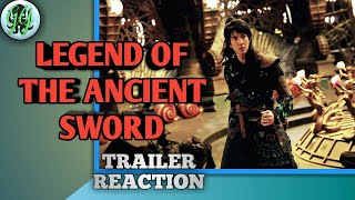 Legend Of The Ancient Sword, Chinese Fantasy Movie Trailer Reaction! HD 2018!