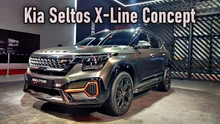 Kia Seltos X-Line Concept - Walk-Around - Krrish