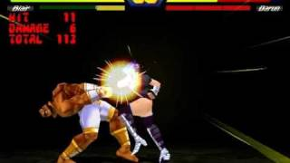 Street Fighter EX Plus Alpha Ultra Combo Damage Exhibition