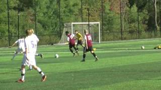 Acton Boxborough Varsity Boys Soccer vs Weston 10/01/13