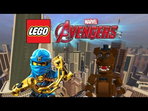 Creating Freddy Fazbear & Jay! | LEGO Marvel's Avengers Customs