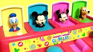 Baby Mickey Mouse Clubhouse Pop-Up Toys Surprise Donald Duck, Winnie the Pooh, Minnie, Pluto, Dory