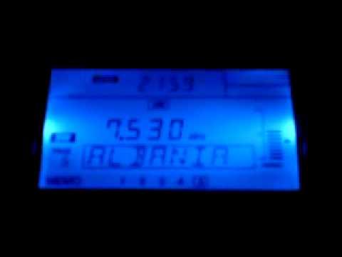 [7530 KHz] The beautiful interval signal of Radio Tirana (English Service)