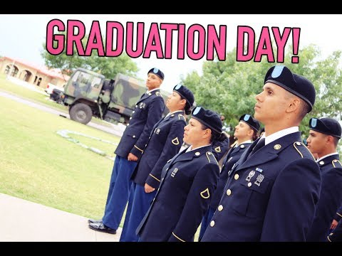 Basic Combat Training Graduation Day!