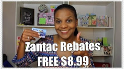 ZANTAC REBATE 8/5/16 | FREE money has arrived...
