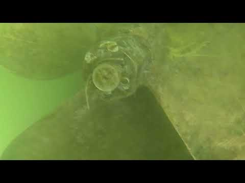 Sydney underwater hull cleaning 047