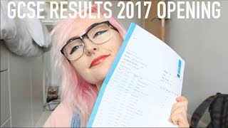 OPENING MY 2017 GCSE RESULTS!