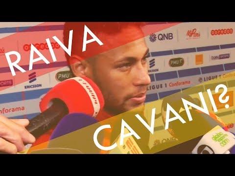 Neymar e Cavani (Análise de Linguagem Corporal - SCAN)