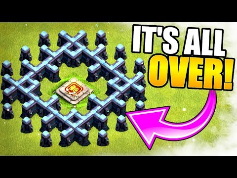 GAME COMPLETE!! THE END OF THE BARBARIAN KING IN CLASH OF CLANS!