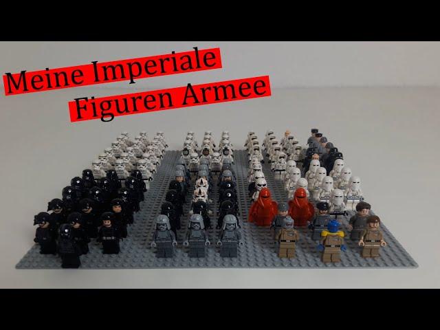 Meine Imperiale Lego Star Wars Figuren Armee