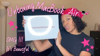 Unboxing MacBook Air 2020 | First Impression