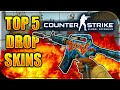 CSGO - TOP 5 MOST EXPENSIVE DROP SKINS IN CSGO! (CS GO Most Expensive Drop Skins)