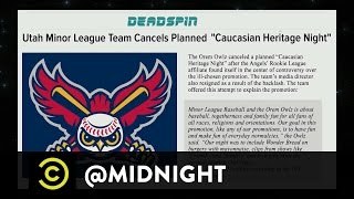 Minor League, Majorly Offensive - Liposuction Giveaway Night - @midnight with Chris Hardwick