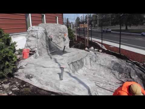 MACNAK Shotcrete Waterfall/Pond/Water Feature
