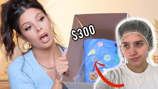 I PAID ERYN $300 TO MAKE ME A MYSTERY BOX... this girl...