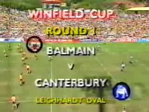 1991 Rd 1 Canterbury v Balmain