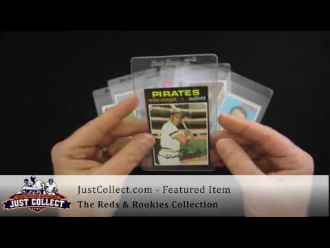 The Reds & Rookies Collection   Featuring Pete Rose & Johnny Bench