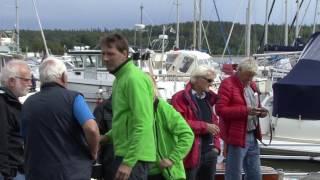 Skärgårdskryssaren SK95 Marga Sjösättning 10juni 2016 efter 19 års renovering (HD-1080)(, 2016-06-12T20:27:25.000Z)