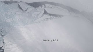 Antarctica iceberg breaks away: Nasa satellite tracks Singapore-sized block of ice