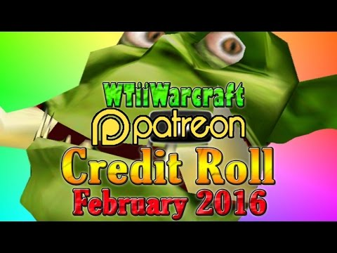 Warcraft 3 - Patron Credit Roll | February 2016