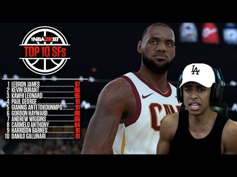 NEW NBA 2K18 RATINGS! Are they Good or Bad? (MY OPINION)