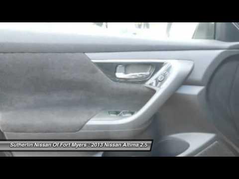 2013 Nissan Altima 2.5 Fort Myers FL 33912. Sutherlin Nissan
