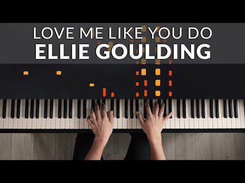 Ellie Goulding - Love Me Like You Do | Tutorial of my Piano Cover