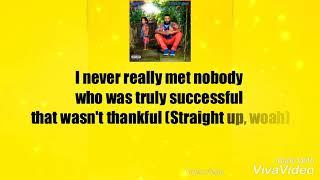 DJ Khaled - Thank You Ft. Big Sean (Lyrics)
