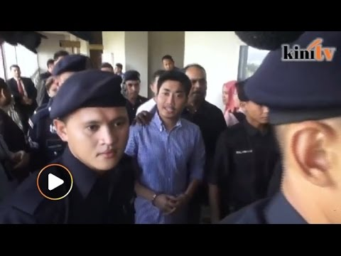 Adam charged with giving false statement, bail set at RM300k